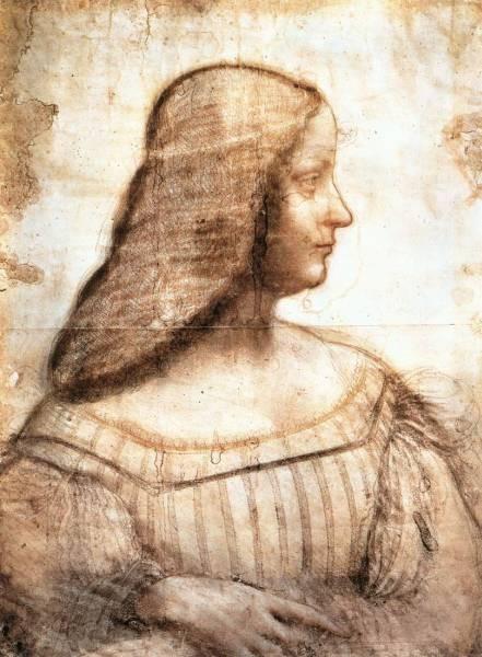 Leonardo da Vinci Isabella d Este